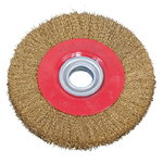 Steel brush wheel 200 x 25 x 32 mm, Bernardo