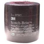 Abrasiiv lehtrull 100x200 mm A VFN Scotch-Brite punane, 3M