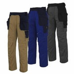 Atina trousers  holsterpockets, khaki/navy, 82C56, MASCOT