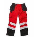 Britelo darbinės kelnės fluorescentinė raudona/t. antracitas 90C58, MASCOT