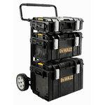Toughsystem mobile folding trolley + 3 boxes, DeWalt