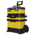 metll plastik  ratastel tööriistakast 73x56,8x38,9cm, Stanley