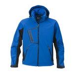 Softshell jakk kapuutsiga 1444 sinine, XL, Acode