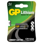 Baterija GP Foto baterijos Li, Pakuotėje 1 vnt CR123A-U1, Gp