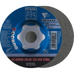 Šķiedras disks 125mm SGP STEEL CC-GRIND-SOLID, Pferd