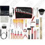 elektriku tööriista kompl 132-osa, KS Tools