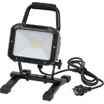 Mobile SMD LED lamp with stand and handle 30W IP54, Brennenstuhl