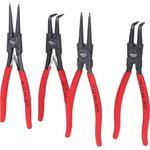 Replių žiedams komplektas, 40-100 mm, 4 pcs, KS tools