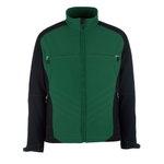 Elastīga jaka Dresden Softshell,  zaļa/melna, Mascot