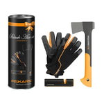 Limited Edition Black Axe kirvekomplekt, Fiskars