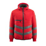 Hi. vis winterjacket Dartford, red/grey, Mascot