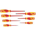 VDE Screwdriver set 7 pcs IS 2.5-6.5 PH 0-2, Gedore