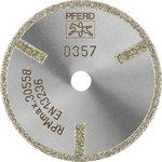 Deimantinis diskas D1A1R  50-2-6    D357 GAG D50X6,0, PFERD