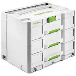 Systainer SYS 4 TL-SORT / 3 drawers, Festool