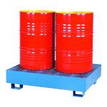 Open drum pallet  2x200L 950×1250×300mm, Intra