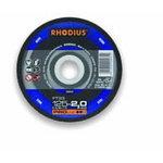 Pjovimo diskas metalui FT33 115x2, Rhodius