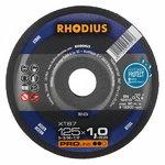 Pjovimo diskas metalui XT67 125x1.5, RHODIUS