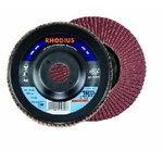 Flap disc LSA P1 125x22,23 G60, RHODIUS Schleifwerkzeuge