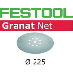 Abrasive mesh STF D225 P240 GR NET / 25, Festool