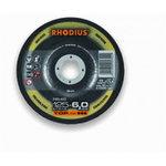 Šlifavimo diskas RS48 125x6,0 nerūdijančiam plienui, Rhodius
