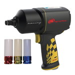 impact wrench 1/2´´ 2135QXPR-B kit with 3 sockets, Ingersoll-Rand