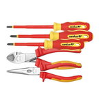 VDE Screwdriver and plier set, Carolus