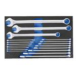 Combination Spanner Set, 18pc  2005CT4-7 XL, Gedore