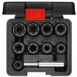 "Extractor socket set 1/2"" 10 pcs"