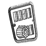 Pööramisfunktsioonide juhtpaneel, JCB