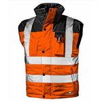 Talvevest Spirit kõrgnähtav Oraanž/must L, Sir Safety System