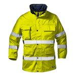 Kõrgnähtav talvejope Motorway Split, kollane, L, Sir Safety System