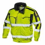 Kõrgnähtav talvejope 4-1-s Contender, kollane, S, Sir Safety System