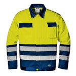 Švarkas Mistral, geltona/tmėlyna, 50, Sir Safety System