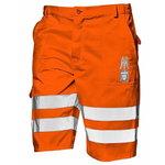 Püksid lühikesed, Mistral, oranz, 50, Sir Safety System