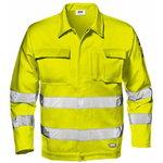 Didelio matomumo striukė Velvet, geltona, 52, Sir Safety System
