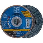 Lameļu slīpdisks125mm Z40 PSF PFC POLIFAN, Pferd