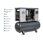 Sraigtinis kompresorius 5 kW VB5i-8-272-D, Aerius