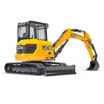 Mini excavatorius  48Z, JCB