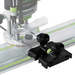 Adapteris OF1400 un FS sliedēm, Festool