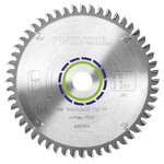 Saw blade 260x2,4x30mm, TF68, -5°. Aluminium profile, FESTOOL