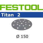 Šlif.popierius TITAN 2 STF D150/16 P 800 TI2, Festool