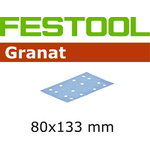 Lihvpaberid GRANAT / STF 80x133/14 / P60 / 50tk, FESTOOL