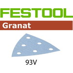 Šlifavimo lapai STF V93/6 P80 GR/50, FESTOOL