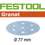Lihvkettad GRANAT D77/6 / P120 - 50 tk, Festool