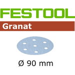 Sanding discs GRANAT / STF D90/6 / P1500 / 50pcs, Festool