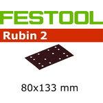 Šlifavimo medžiaga STF 80X133 P100 RU2/50, Festool