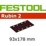 Lihvpaberid RUBIN 2 / STF 93x178/8 / P100 - 50tk, Festool
