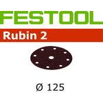 Lihvkettad RUBIN 2 / STF D125/90 / P60 / 50tk, Festool