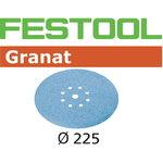 Slīpēšanas diski STF D225 / 8 P120 GR/25, Festool
