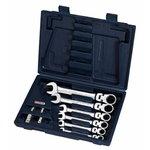 Kombinuotų raktų komplektas  8-19mm 10-vnt GEAR+, KS tools